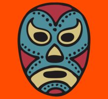 Mexican Wrestling Mask - Lucha Libre Kids Tee