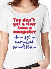 VIRUS Women's Relaxed Fit T-Shirt