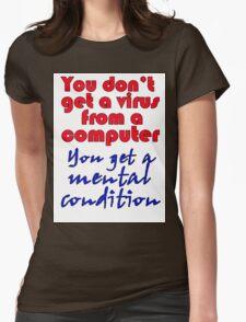 VIRUS Womens Fitted T-Shirt