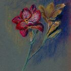 Flower-pastel sketch by ChrisNeal