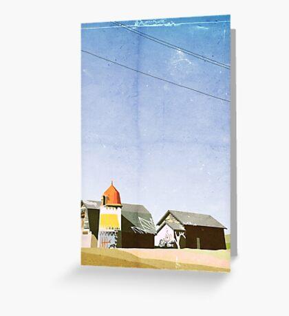 Barns Greeting Card
