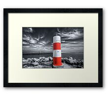 Port or Starboard Colourised Framed Print