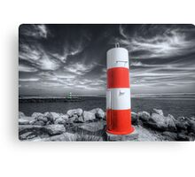 Port or Starboard Colourised Canvas Print