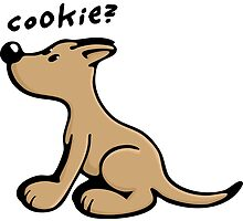 Dog wants a Cookie by chrisbears