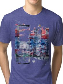 In the Midst of Life. Layer after Layer. The Family: mother with two kids.  Tri-blend T-Shirt