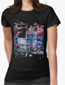 In the Midst of Life. Layer after Layer. The Family: mother with two kids.  Womens Fitted T-Shirt