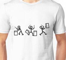 Drummer Stickmen Unisex T-Shirt