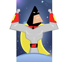 Space Ghost by lobosdave
