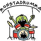 Monster Drummer by chrisbears