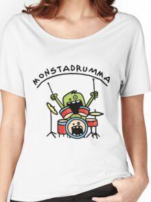 Monster Drummer Women's Relaxed Fit T-Shirt