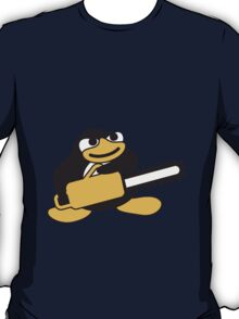 Chainsaw Penguin T-Shirt