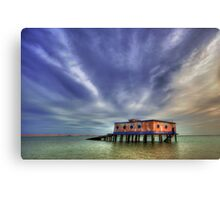 Lifeboat House Canvas Print