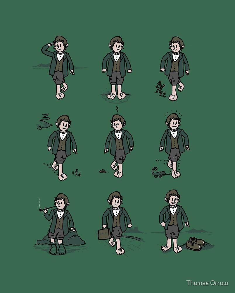 Hobbit Feet by Thomas Orrow