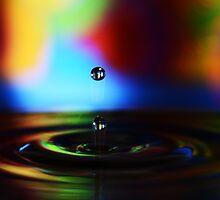 Water Drop - 3 by LouiseLafleur