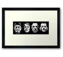 Ex-Presidents Framed Print