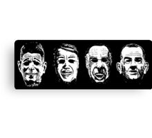 Ex-Presidents Canvas Print