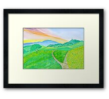 Spring Season-3 Framed Print