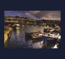Boats at Brixham One Piece - Long Sleeve