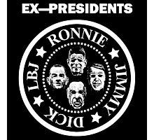 Ex-Presidents Photographic Print