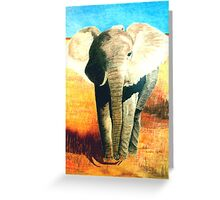 Standing Guard Greeting Card