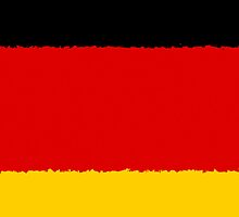 Smartphone Case - Flag of Germany - Horizontal Painted by Mark Podger