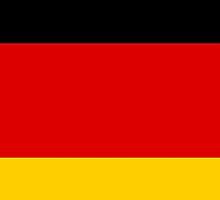 Smartphone Case - Flag of Germany - Horizontal by Mark Podger