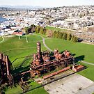 Gasworks Park by travelwyse