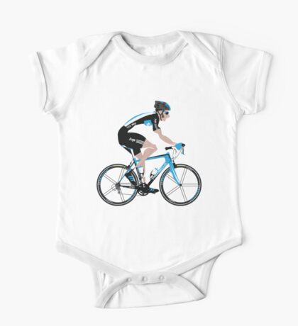 Bradley Wiggins Team Sky One Piece - Short Sleeve