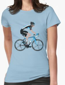 Bradley Wiggins Team Sky Womens Fitted T-Shirt