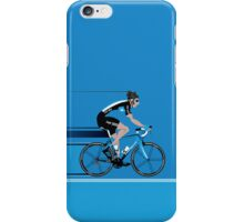 Bradley Wiggins Team Sky iPhone Case/Skin