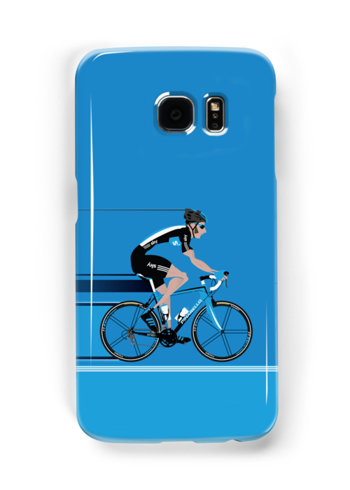 Bradley Wiggins Team Sky by Andy Scullion