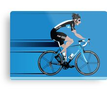 Bradley Wiggins Team Sky Metal Print