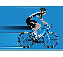 Bradley Wiggins Team Sky Photographic Print