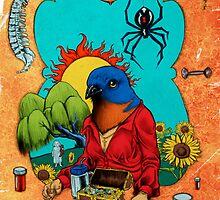 Bluebird of Happiness by Baird Hoffmire