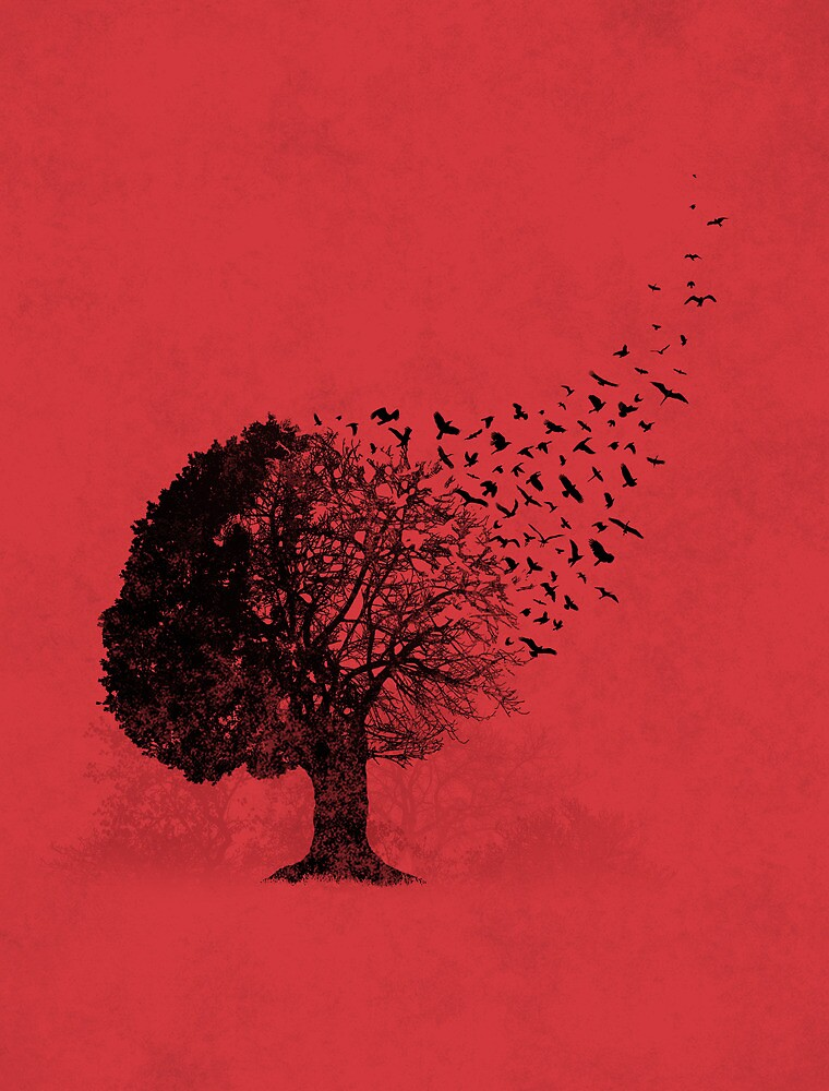Autumn Birds by laurxy