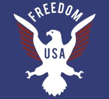 Freedom Eagle (White) by Mark Omlor