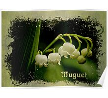 Lily of the Valley (Muguet) Poster