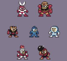 Megaman surrounded 1 Kids Clothes