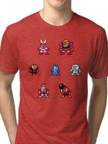 Megaman surrounded 1 Tri-blend T-Shirt