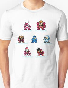 Megaman surrounded 1 with text T-Shirt