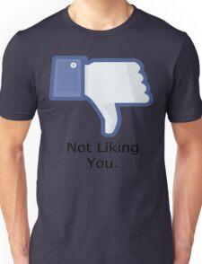 Dislike T-shirt! Don't like somebody? Just show them this T-shirt! Unisex T-Shirt