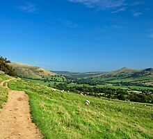 The Vale of Edale from the Pennine Way by Rod Johnson