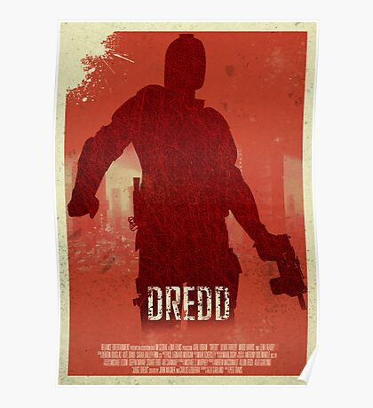Dredd - I Am The Law Poster