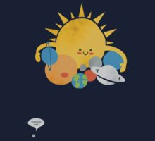 Funny Planets Kids Clothes