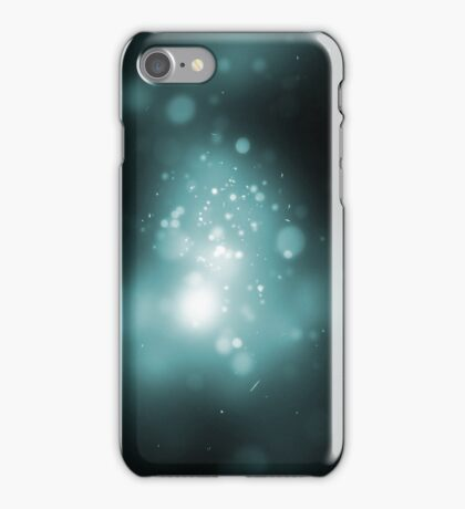 Galaxy Baby Blue iPhone Case/Skin