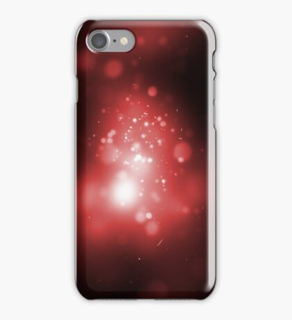 Galaxy Red iPhone Case/Skin