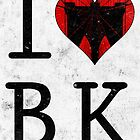 I Love Brooklyn BK, NY by icoNYC