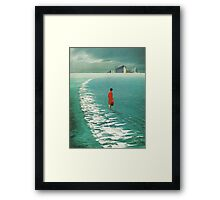 Waiting For The Cities To Fade Out Framed Print