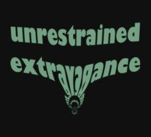 unrestrained extravagance by Tia Knight