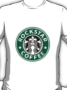 Starbucks/Rockstar Coffee Parody T-Shirt